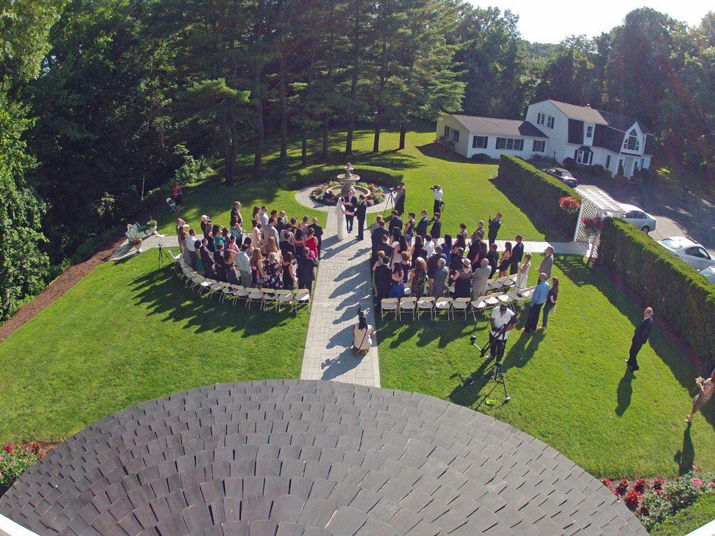 Outdoor Wedding Ceremony, Fox Hill Inn