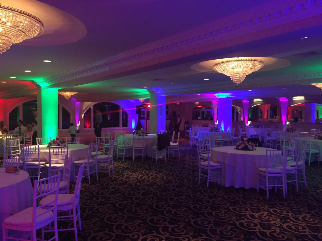 Multi-Colored Lighting, Candlewood Inn, Brookfield, Ct.