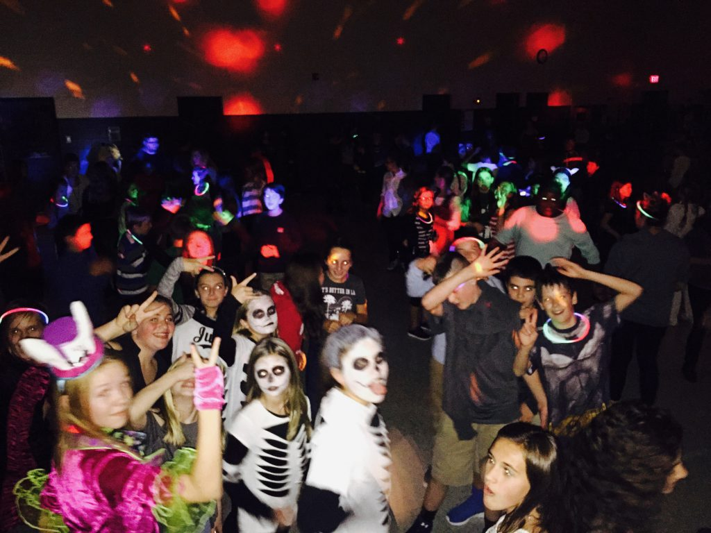 School Halloween Dance