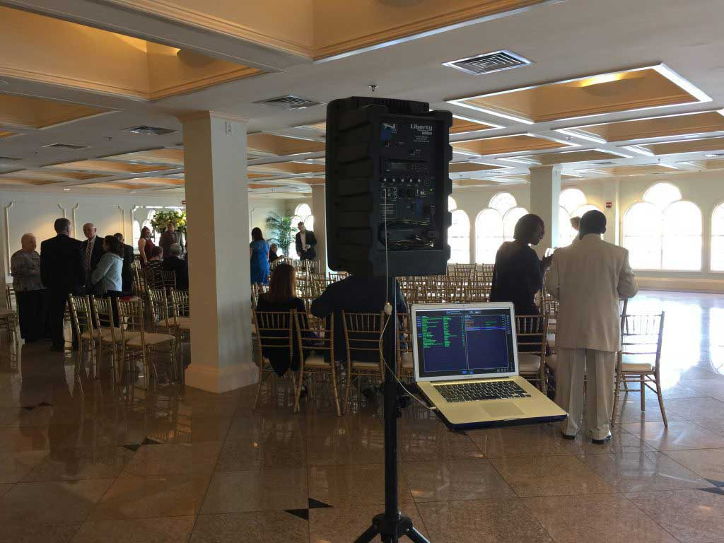 Battery-Powered Ceremony System, The Waterview
